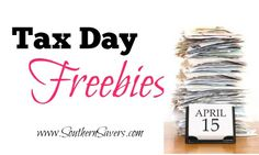 Tax Day Freebies 2014 : Get Free Cookies, Dinner, & More!
