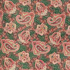 Puuvilla Paisley Modern 1 kangastori.com:sta