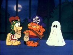 "Garfield's Halloween Adventure- ""candy, candy, candy, candy, candy, candy, candy"""