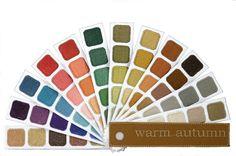 Welcome to Warm Autumn | Warm Autumn Color Palette