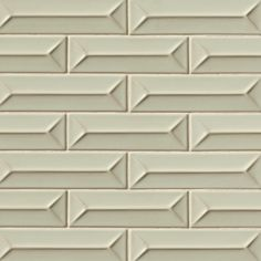 """Costa Allegra 3"""" x 12"""" Matte Ceramic Pacifico Deco Tile in Timber 