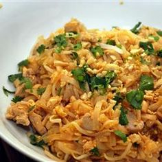 30-Minute Meal: Bet you didn't know your favorite pad Thai take-out was this quick and easy to make at home! Repin for a Friday night in. http://allrecipes.com/recipe/a-pad-thai-worth-making/detail.aspx
