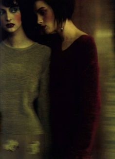 ☽ Dream Within a Dream ☾ Misty Blurred Art Fashion Photography - paolo roversi