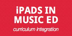 List of apps for iPad and music education