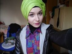 Hijab tutorial l Side knot Loose Turban - YouTube