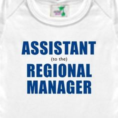 Assistant to the Regional Manager Onesie or Shirt - The Office TV Show, Micheal Scott, Dwight Schrute