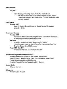 RN resume samples - http://exampleresumecv.org/rn-resume-samples ...