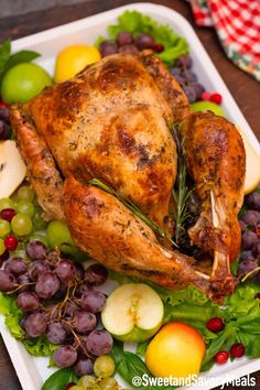 Herb Roasted Turkey Recipe - Sweet and Savory Meals