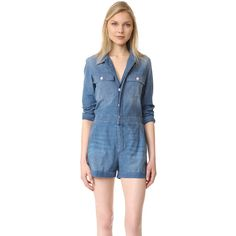 AMO Skip Romper ($175) ❤ liked on Polyvore featuring jumpsuits and rompers