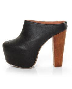 every girl needs their go-to, mega heel, platform clog. i choose this one.