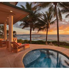 When you're in need of a vacation #Hawaii via @luxury_listings... - Interior Design Ideas, Interior Decor and Designs, Home Design Inspiration, Room Design Ideas, Interior Decorating, Furniture And Accessories