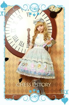 Chess Story Alice Mad Tea Party JSK (ltd edition) 120 USD