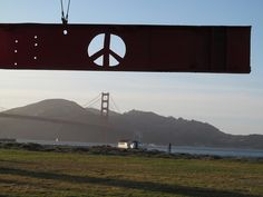 Mark di Suvero. Crissy Field, San Francisco 2013