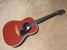 #guitar Ovation Applause AA-14 acoustic guitar rare terra cotta finish please retweet