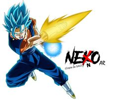Vegitto SSGSS: Super Saiyan Blue by NekoAR