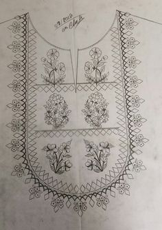 Peacock Embroidery Designs, Hand Embroidery Design Patterns, Textile Pattern Design, Hand Embroidery Videos, Hand Work Embroidery, Embroidery Flowers Pattern, Embroidery Motifs, Embroidery Kits, Machine Embroidery Designs