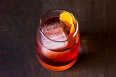 The Negroni | By Erika Kotite |  Rejoice! This 1:1:1 ratio will be the easiest cocktail recipe you'll ever memorize. This drink is at its finest as an aperitif; all those tasty herbs wake up and cleanse the taste buds. | Via: food52.com