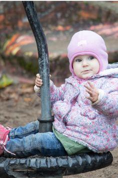 5b98f1cf1a1 Pickapooh Baby und Kinder Schlupfmütze zum Wenden Wollfleece pink