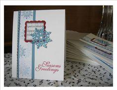 Paper: Whisper White, Cherry Cobbler, Marina Mist                                         Ink: Cherry Cobbler, Marina Mist, Bashful Bl...