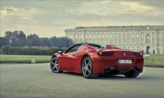 Top convertibles for 2013-Ferrari 458 Spider