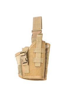 Drop Holster for Tactical Lights/Laser Right Hand in Kryptek Highlander for Glock 34 with SureFire X300 Ultra