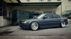 A BMW With an Executive Touch - Stance Works