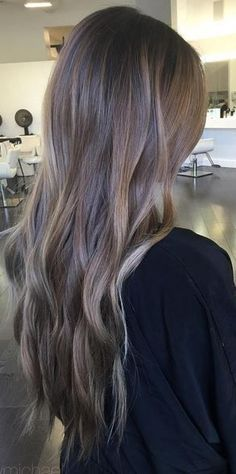 Trendy Hair Color & Balayage : before and after amazing brunette hair color correction Light Ash Brown Hair, Ash Brown Hair Color, Brown Hair With Highlights, Hair Color And Cut, Ombre Highlights, Dark To Light Hair, Blond Ash, Ashy Hair, Ashy Brown Hair
