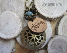 // S T R O N G // This Oil Diffuser Necklace is perfect to use with you favorite pure essential oils, keeping their essence close all day long.