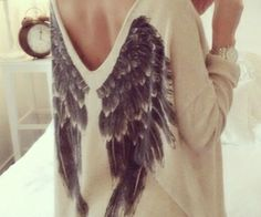 pull ailes d'ange