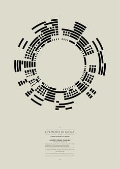 Visualisation of a piece of music.