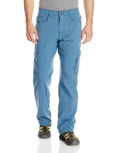 prAna Men's Stretch Zion Lined Pant * To view further, visit now : Camping clothes