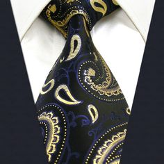 Herren-accessoires Tie Mens Necktie Silk Navy Cream Gesundheit Effektiv StäRken
