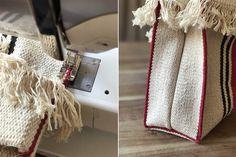 DIY Ikea Signe Rug Bag
