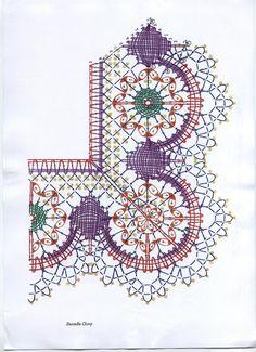 Insieme di disegni con foto e schemi(BOLILLOS) - Blancaflor1 - Веб-альбомы Picasa