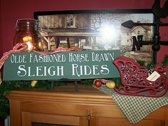 SLEIGH RIDES Magical Christmas, Merry Little Christmas, Christmas Love, Country Decor, Country Style, Winter Porch Decorations, Dashing Through The Snow, Porch Decorating, Winter Wonderland