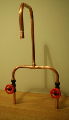 Hey, I found this really awesome Etsy listing at https://www.etsy.com/listing/213980552/copper-industrial-tap-for-kitchen