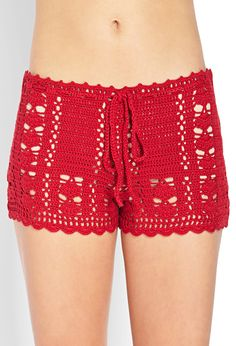 Dream Weaver Crochet Shorts                                                                                                                                                     Más