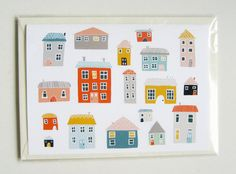 1 Home Card by blackoutwell on Etsy, £2.00