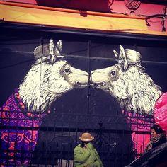Beyond Banksy Project / Ericailcane - La Paz, Bolivia