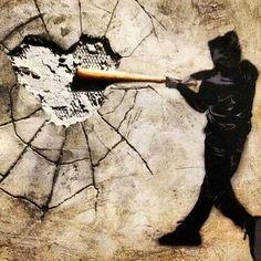 #banksy? break our hearts everyone breaks hearts hearts aren't shatter proof @streetart.nl