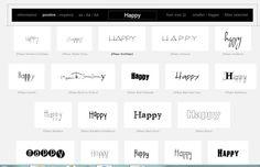Scrivere un parola e testarla con tutti i font presenti sul PC - Wordmark.it