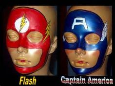 Superhero Face Painting Ideas - Bing Images