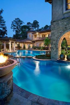 Mansions homes Dream house mansions Rich people lifestyle Mansions luxury Modern mansions House goals Dream Home Design, House Design, Dream Mansion, Mansion Houses, Luxury Pools, Luxury Swimming Pools, Luxury Homes Dream Houses, Dream Pools, Dream House Exterior