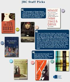 What members of the Jewish Book Council staff are reading this month | September 2013