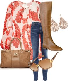 """""""Spring Time Shopping"""" by wyattsharley on Polyvore"""