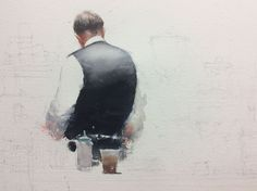 Joseph Zbukvic, work in progress