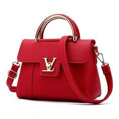 Oferta: 11.42€. Comprar Ofertas de Dunland - Bolso de asas para mujer rojo rosso M barato. ¡Mira las ofertas!