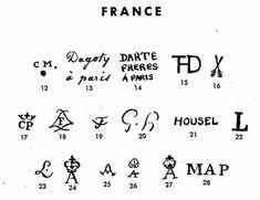 Pottery & Porcelain Marks - France - Pg. 7 of 22