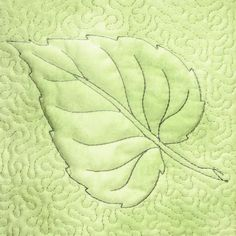 Leaves Quilt Blocks - 6x8 - Products - SWAK Embroidery