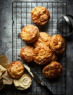 Buttermilk adds a hint of acidity that complements the cheese while also helping the dough to rise. Try our delicious cheese and chive scones with extra butter to serve